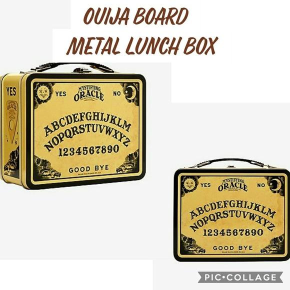 Hot Topic Handbags - 💀Ouija board metal lunch box new in package